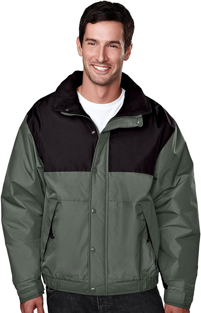 Tri-Mountain Windproof Winter Jacket w/Heavyweight Toughlan Nylon. 8928