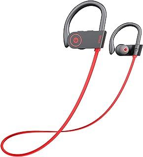 Otium Bluetooth Headphones, Best Wireless Earbuds IPX7 Waterproof Sports Earphones w/Mic HD Stereo Sweatproof in-Ear Earbu...