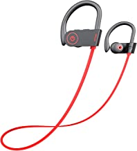 Otium Bluetooth Headphones, Best Wireless Earbuds IPX7 Waterproof Sports Earphones w/Mic..
