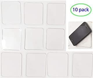 LIEN Super Sticky Gripping Pads Clear Silicone Gel Pads Durable Washable Anti-Slip Gel Pads for Car,Home,Cell Phone and Accessories