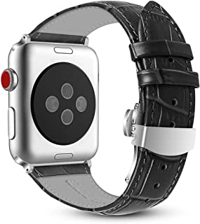 Best apple watch leather deployment clasp Reviews