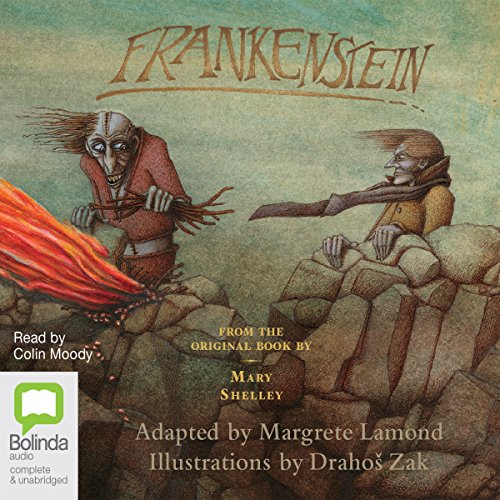 Frankenstein     A Modern Retelling              By:                                                                                                                                 Margrete Lamond                               Narrated by:                                                                                                                                 Colin Moody                      Length: 5 hrs and 20 mins     1 rating     Overall 3.0