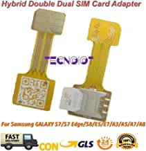 TECNOIOT Hybrid Dual SIM Card Adapter Micro SD Nano SIM Extension Adapter for Android   Dual SIM Adaptador Nano a Nano SIM Adaptador SIM Tarjeta Cable de extensión para Samsung Huawei Xiaomi HTC