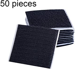 Antid/érapant Nastro velcro Adesivo nastri Utilizzabile su Piastrelle di Ceramica Tappeto Nero Porta JUNSHUO 5 PCS 6CM Versatili Adesivo Tondo Forte