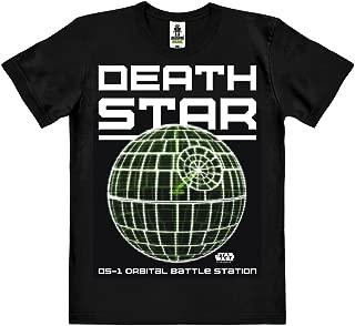 Design Originale Concesso su Licenza Marvel Comics Nero T-Shirt Logoshirt Maglietta Organico per Bambini The Mighty Thor
