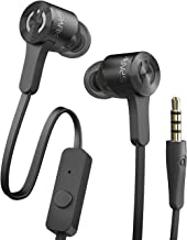 MuveAcoustics Spark MA-0025MB Extra Bass in Ear Headphones with Microphone (Midnight Black)