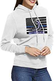Don't Tread On Me Womens Hoodies Sweatshirts Clothing and Sports