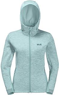 Jack Wolfskin Women's Morning Sky Fleece Jacket, Green Haze, Size 4