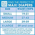 Egosan Maxi Incontinence Disposable Adult Diaper Brief with Tabs Maximum Absorbency and Adjustable for Men and Women (Large 15-Count) #3
