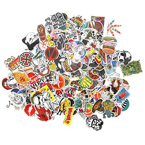 SurePromise Graffiti-Aufkleber für Koffer, Auto, Skateboard, Laptop, 500 Stück