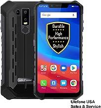 "$289 Get UlefoneUSA Armor 6E Unlocked Cell Phones, Rugged Phones Dual Sim 4G 6.2"" FHD Android 9.0 Helio P70,4GB+64GB,NFC+ Face ID+ UV Senso+GPS+Wireless Charging Capability (Black)"