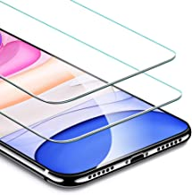 ESR Screen Protector Compatible for iPhone 11, iPhone XR [2 Pack] [Easy Installation Frame] [Case Friendly], Premium Tempered Glass Screen Protector for iPhone 6.1 Inch (2019)
