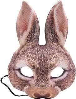 LoveInUSA Bunny Mask, Animal Masks Bunny Costume Animal Costumes For Animal Parties/ Dances/ Carnivals