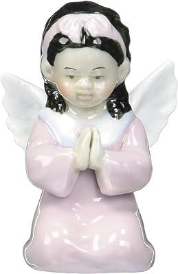 Cosmos 1283 Kneeling African American Angel Girl Figurine, 3-1/2-Inch