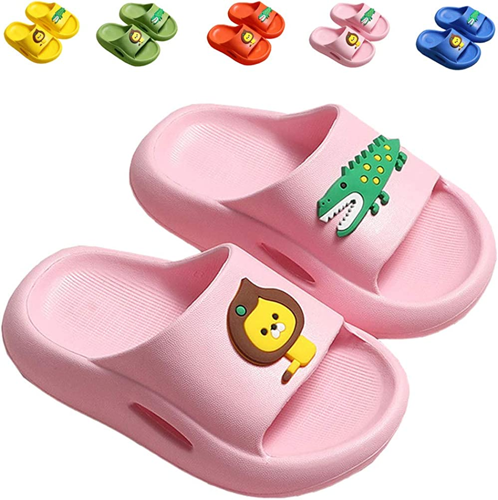 Kids Slide Sandals Boys Recommended Girls Water Shoes online shopping for Cute Bea Slippers