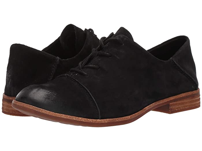 1920s Style Shoes Kork-Ease Tillery Black Suede Womens Shoes $135.00 AT vintagedancer.com