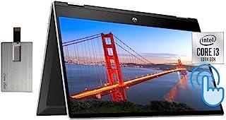2021 HP Pavilion x360 2-in-1 14インチ HD タッチスクリーン ノートパソコン コンピューター 第10世代 Intel Core i3-1005G1 16GB RAM 512GB SSD B&O オーディオ HD ...