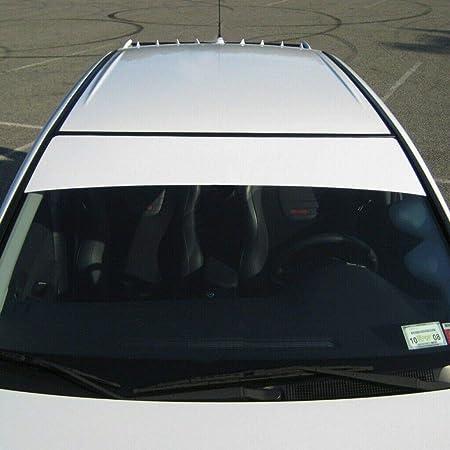 PLAIN GLOSS BLACK SUN STRIP CAR WINDSCREEN