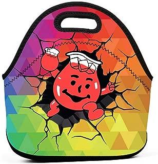 Betty Doddedf Ko-ol Aid Clipart First Neoprene Insulated Lunch Bag Lunchbox For School Work Office Handbag For School Office