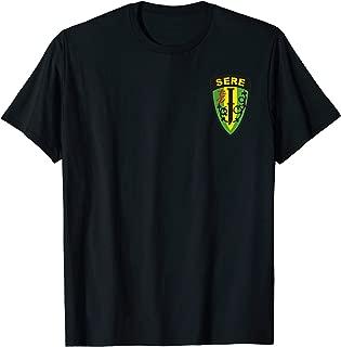 Survival, Evasion, Resistance and Escape SERE Patch T-Shirt