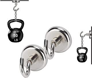 50 Pound Hooks - Neodymium Rare Earth Magnet, Grade N48