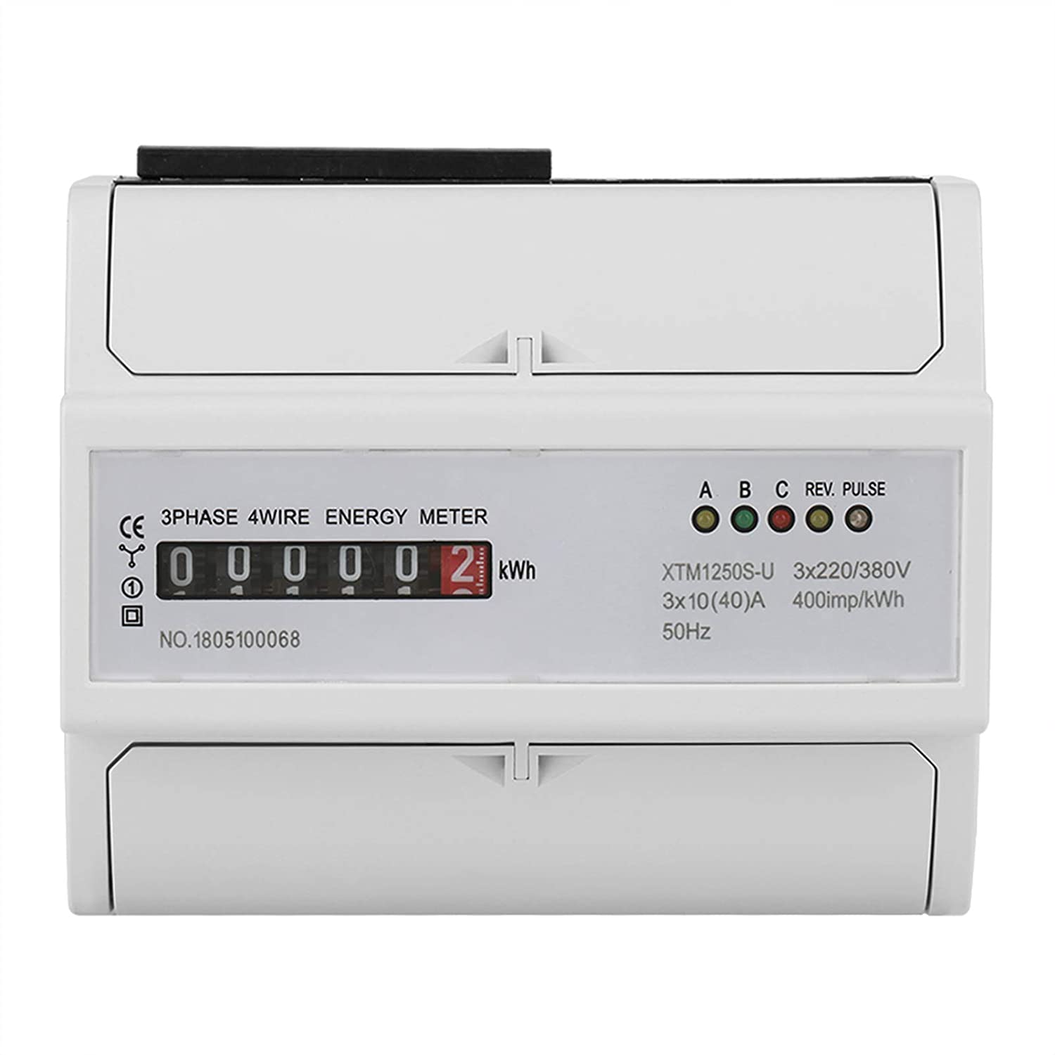Digital 3 Phase Electric Meter Din-Rail for New product!! Energy Soldering Test fo
