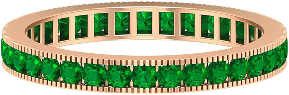 Antique Dealing full price reduction Wedding Ring May Birthstone Emerald Fresno Mall CT Etern 0.87