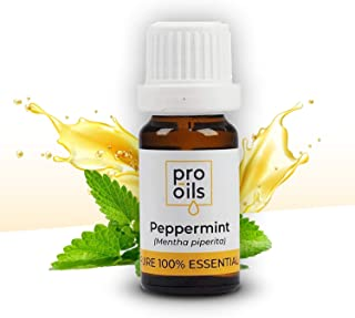 PRO-OILS 100% Pure Peppermint Essential Oil 12ml - Also used for Headache Relief, Blocked Nose - Aussie Supplier for 25 YE...