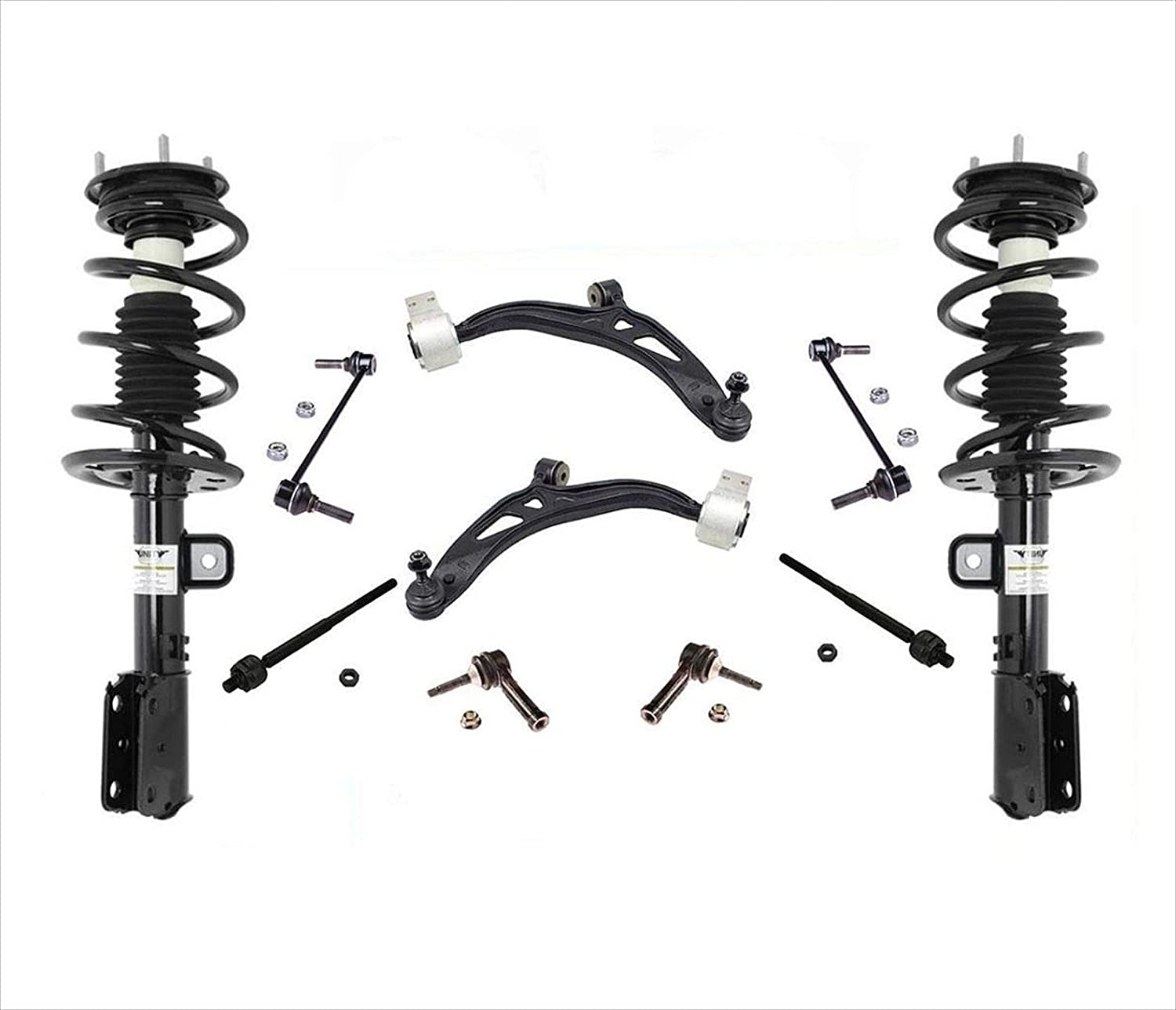Complete Struts Control Seasonal Sale price Wrap Introduction Arms Rods Fits For Ford Drive All Wheel