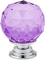 GAXQFEI Deurklink Kast Deurklink 5/10 Stks 30 Mm Crystal Ball Glass Knoppen Kast Lade Trek Keukenkast Deur Garderobe Handv...