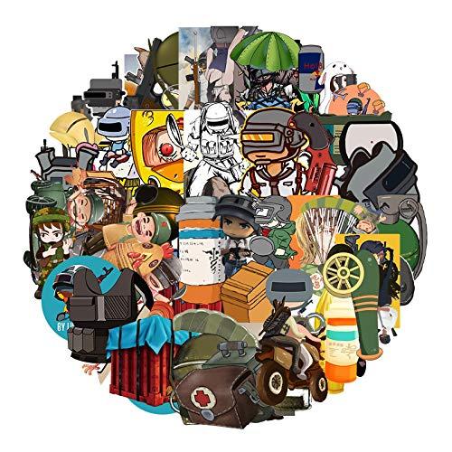 LMY 64 unids no repite Pl ay erU nk no wn's Bat tle gr ounds comer pollo graffiti pegatinas equipaje scooter impermeable dibujos animados pegatinas