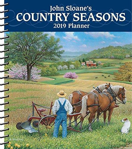 Download John Sloane's Country Seasons 2019 Monthly/Weekly Planner Calendar 1449492428