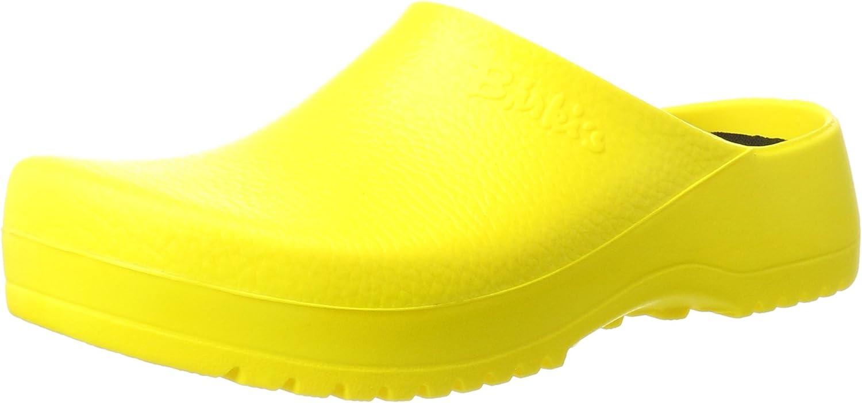Birki Super Yellow, Unisex-Adult Clogs and Mules