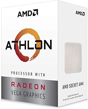 AMD Athlon 200GE 3.2GHz 4MB L3 Caja - Procesador Athlon, 3.2 GHz, Zócalo AM4, PC, 14 NM, 200GE