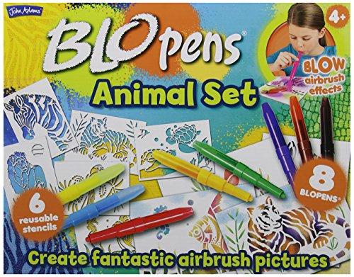 BLO Pens 10049 Set d'activités Animaux Multicolore 1 pack - version anglaise