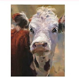 Classic Adult Jigsaw Puzzle 1000 Pieces Children Puzzle Thinking Cow DIY Wooden Puzzle Modern Home Decor Wall Art Picture Unique Gift