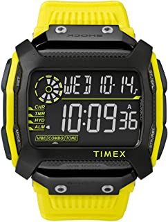 Timex Command Shock TW5M18500 - Reloj unisex con correa de plástico, esfera digital, color negro