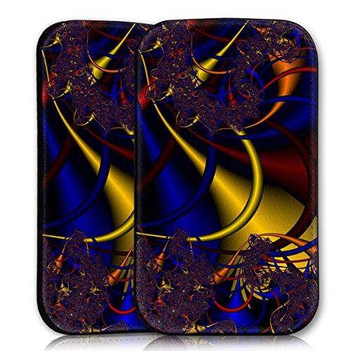 wicostar Sleeve Style Handy Tasche Hülle Schutz Hülle Schale Motiv Etui für Wiko Rainbow Jam - Sleeve UBS11 Design1