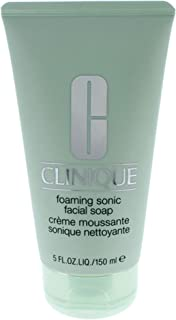 Clinique Foaming Sonic Facial Soap for Unisex, 5 Ounce
