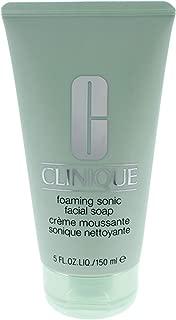 Clinique Foaming Sonic Facial Soap for Unisex, 5 Ounce