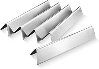 QuliMetal 7636 15.3 Inches Flavor Bars for Weber Spirit 300 E310 E320 E330 S310 S320 S330, Stainless Steel Grill Parts for Weber Spirit 300 Series Heat Plates (with Front Control Knobs), 16 GA