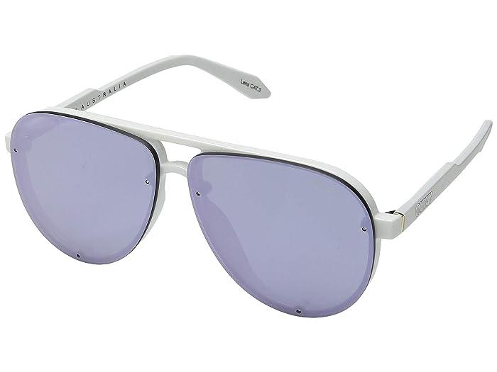 Tricky (White/Purple) Snow Goggles