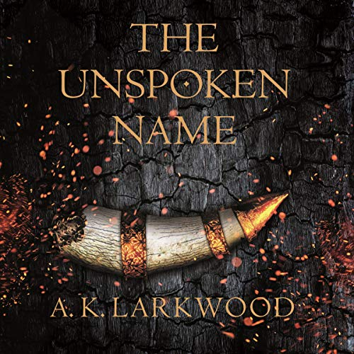 The Unspoken Name audiobook cover art