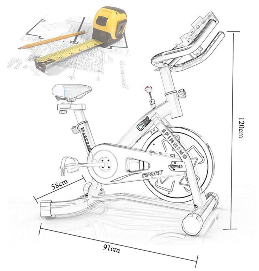 YSYYSH Bicicleta Ciclismo Indoor Bicicleta estática, Resistencia ...