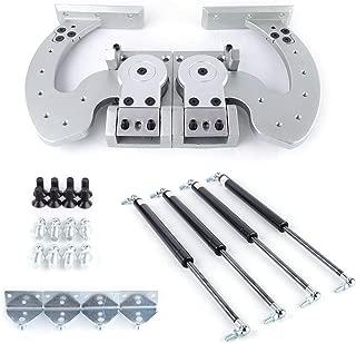 Universal Lambo Door Bolt Kit Vertical Door Hinge Kit Adjustable 90 Degree Most Car Vertical Doors USA STOCK