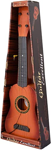R H NAKRANI Creation 23 4 String Decor Guitar Children s Musical Instrument Educational Toy Small Guitar for Beginners Kids Child 23Inch