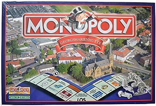 Monopoly Georgsmarienhütte 2007 Winning Moves 1. Auflage