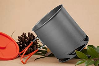 Sport and Outdoor YingYing Fire Maple Fmc-xk6 Xk6 Heat Collectiing Exchanger Pot Cup Camping Picnic Cookware Kettle 1l