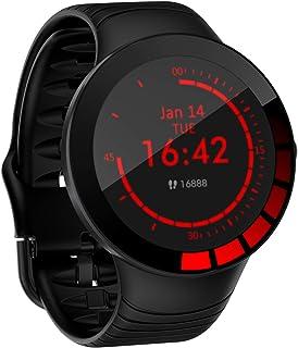 LTLJX Reloj de Actividad Inteligente Impermeable IP68 Hombre Mujer Smartwatch con Pulsómetro Blood Pressure Sueño Podómetro Pulsera Deporte Reloj para Android y iOS Teléfono móvil