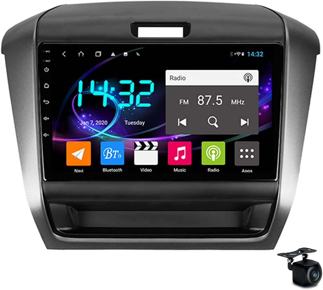 YCJB Car Stereo Android 10.0 Sat Nav for H-onda Freed 2 2016-2020 GPS Navigation 9'' Headunit MP5 Multimedia Video Player FM Radio Receiver with 4G 5G WiFi SWC Carplay,4core 4g WiFi 2+32gb